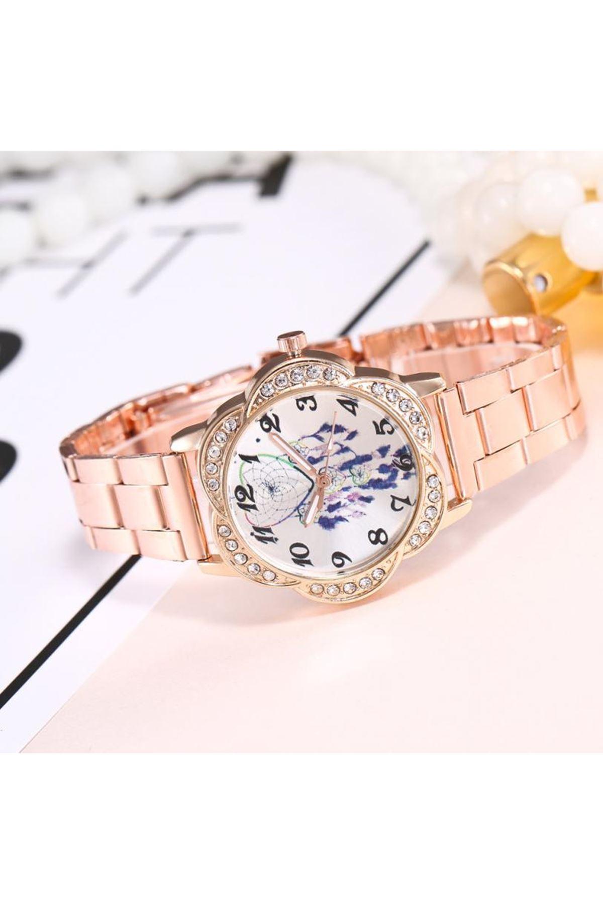 9049 Rose Gold Kadın Saat