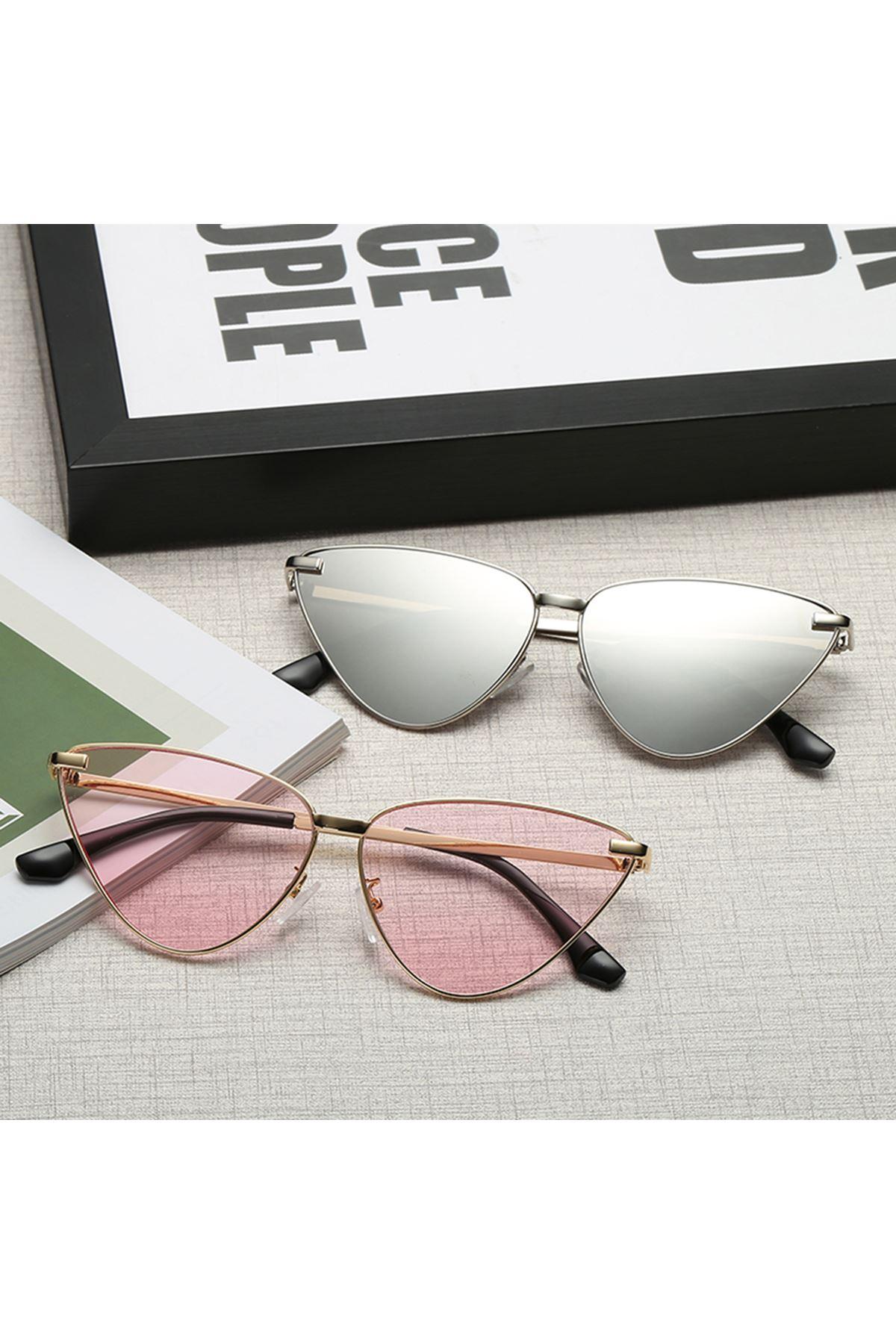 6017 Gümüş Kadın Gözlük