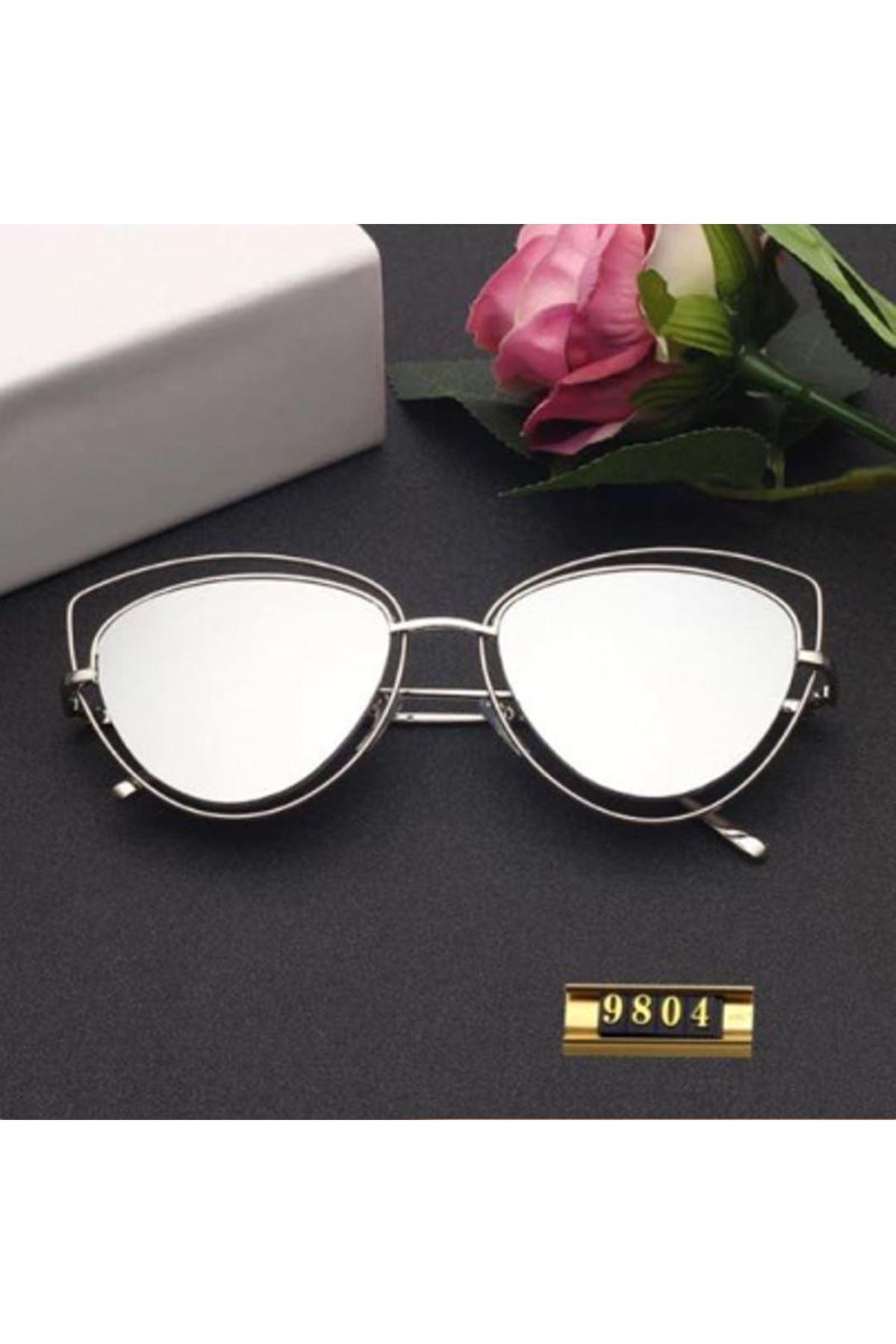 6010 Gümüş Ayna Kadın Gözlük