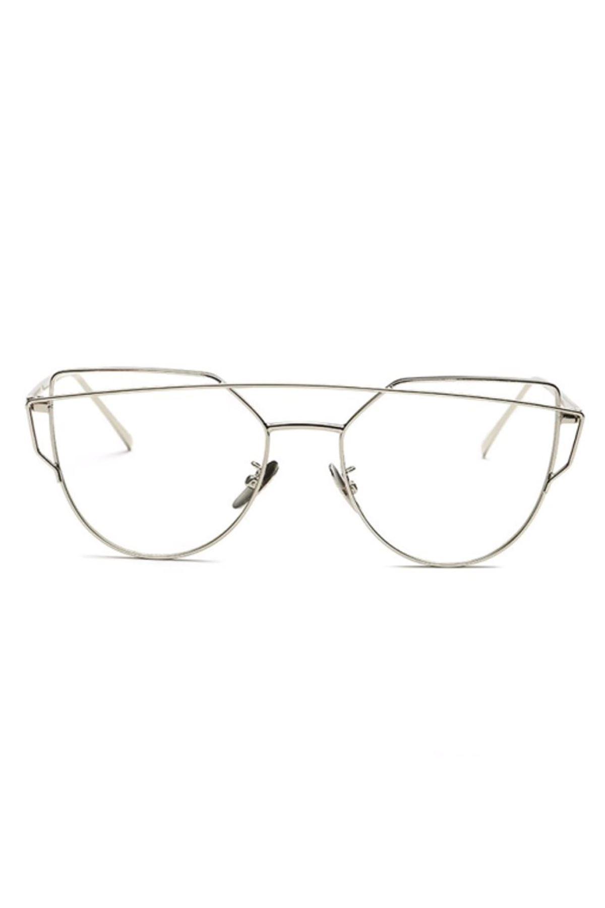 6000 Şeffaf Kadın Gözlük