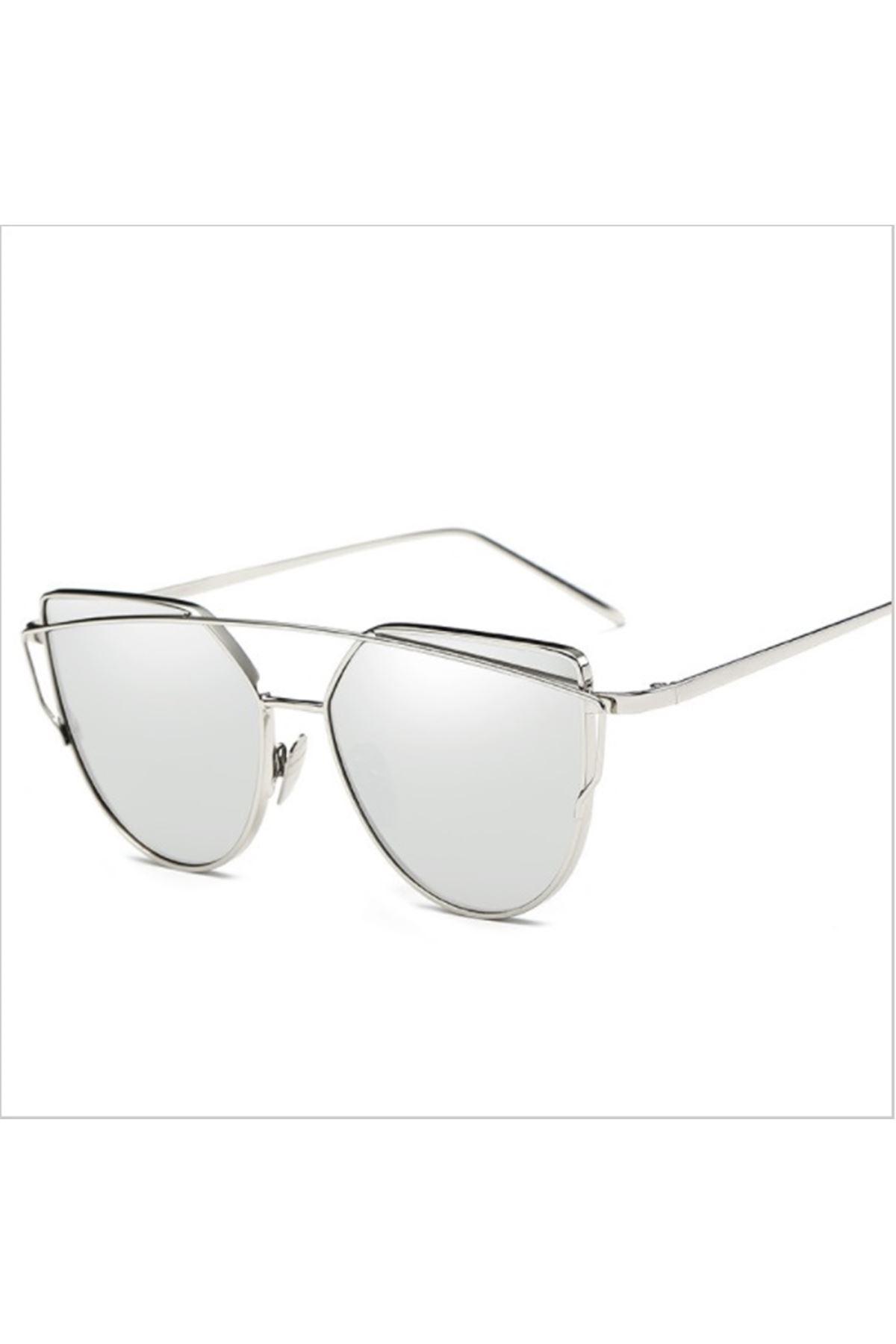 6000 Gümüş Ayna Kadın Gözlük