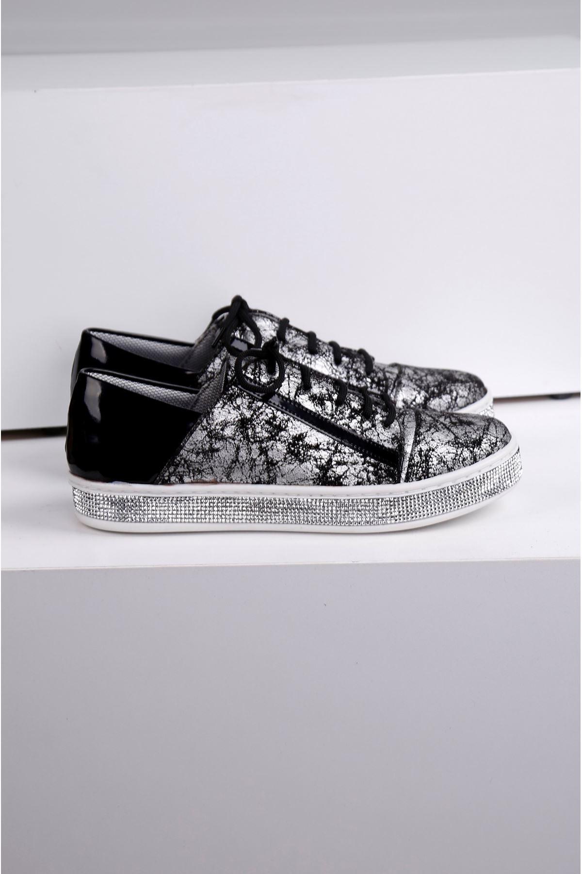ESİLL Taban Taş Kaplama Ayakkabı