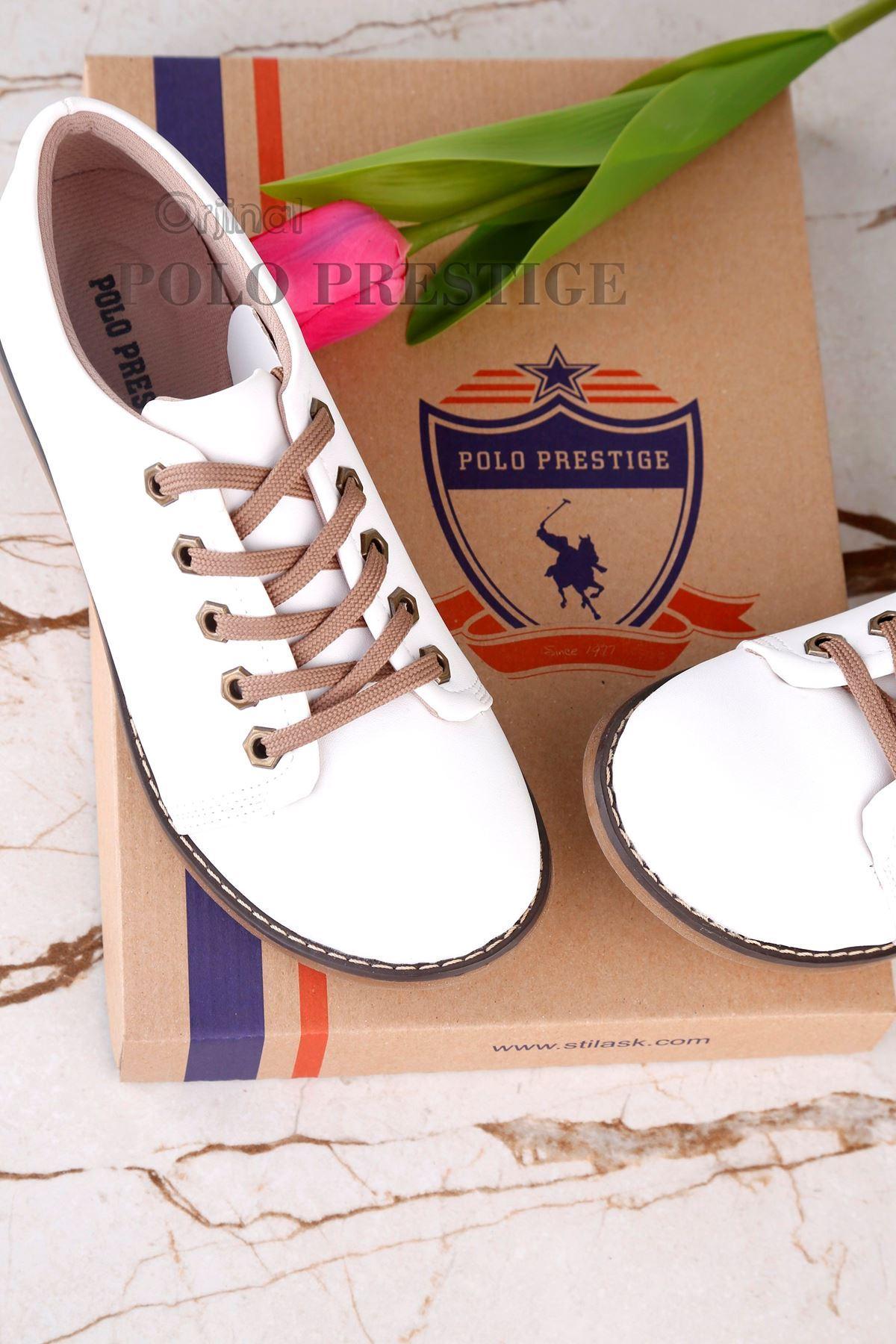 LIGHT Ortepedik Beyaz Ayakkabı