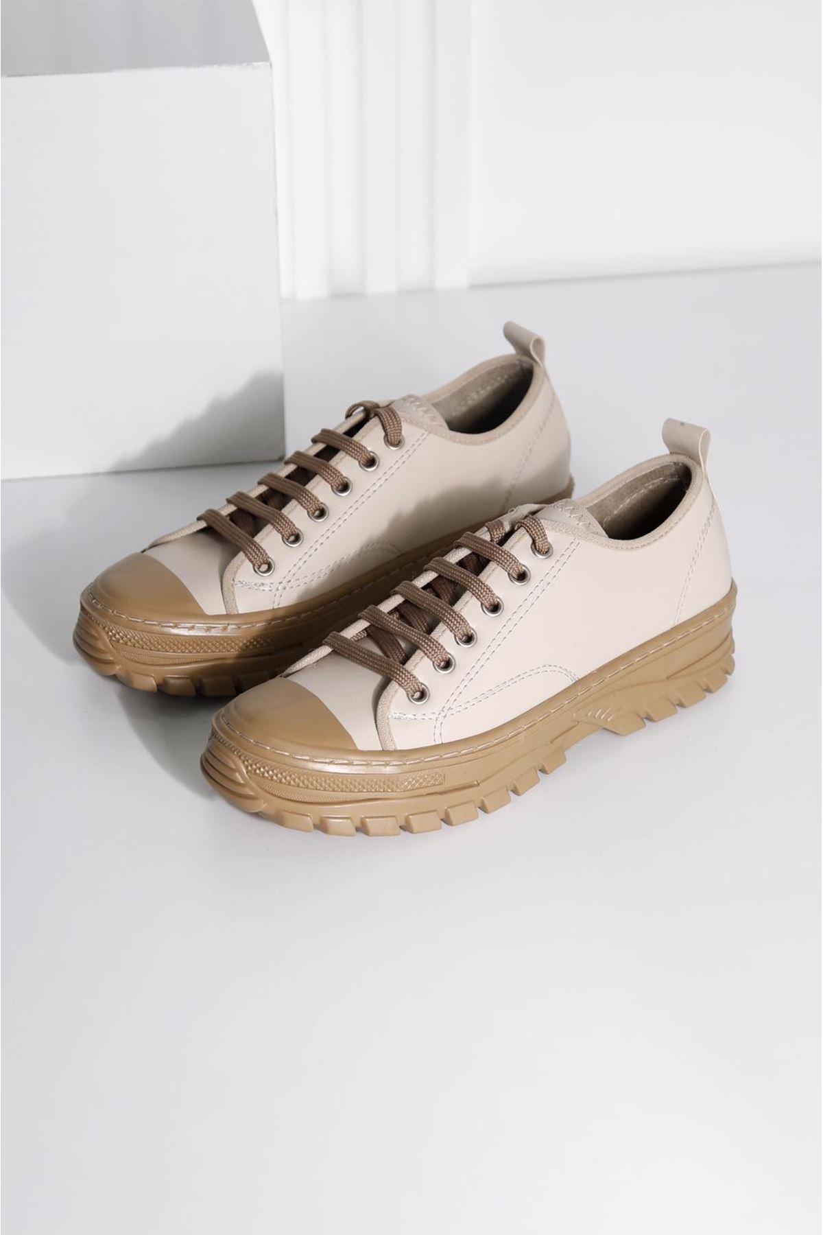 CRIX Kadın Vizon Casual Ayakkabı