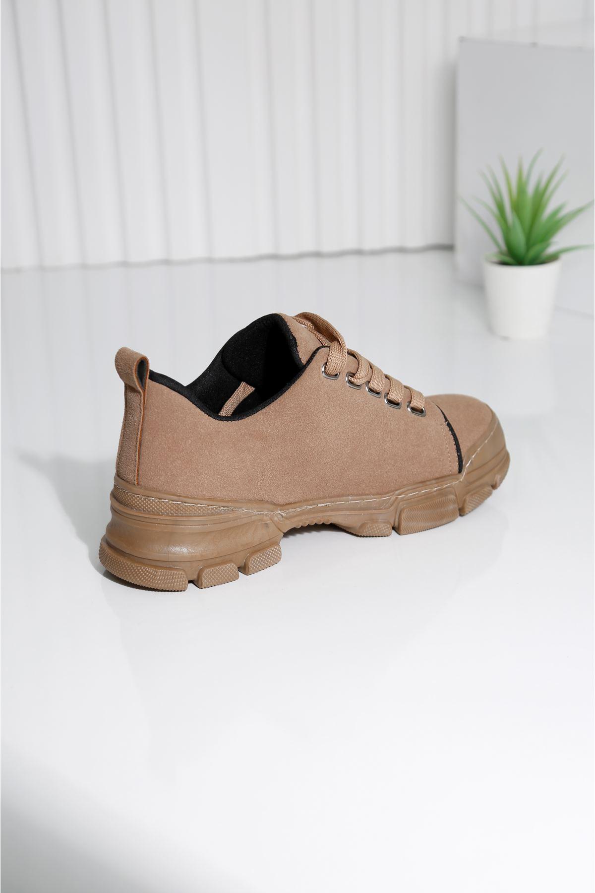 STANFORD Kahverengi Süet Spor Ayakkabı