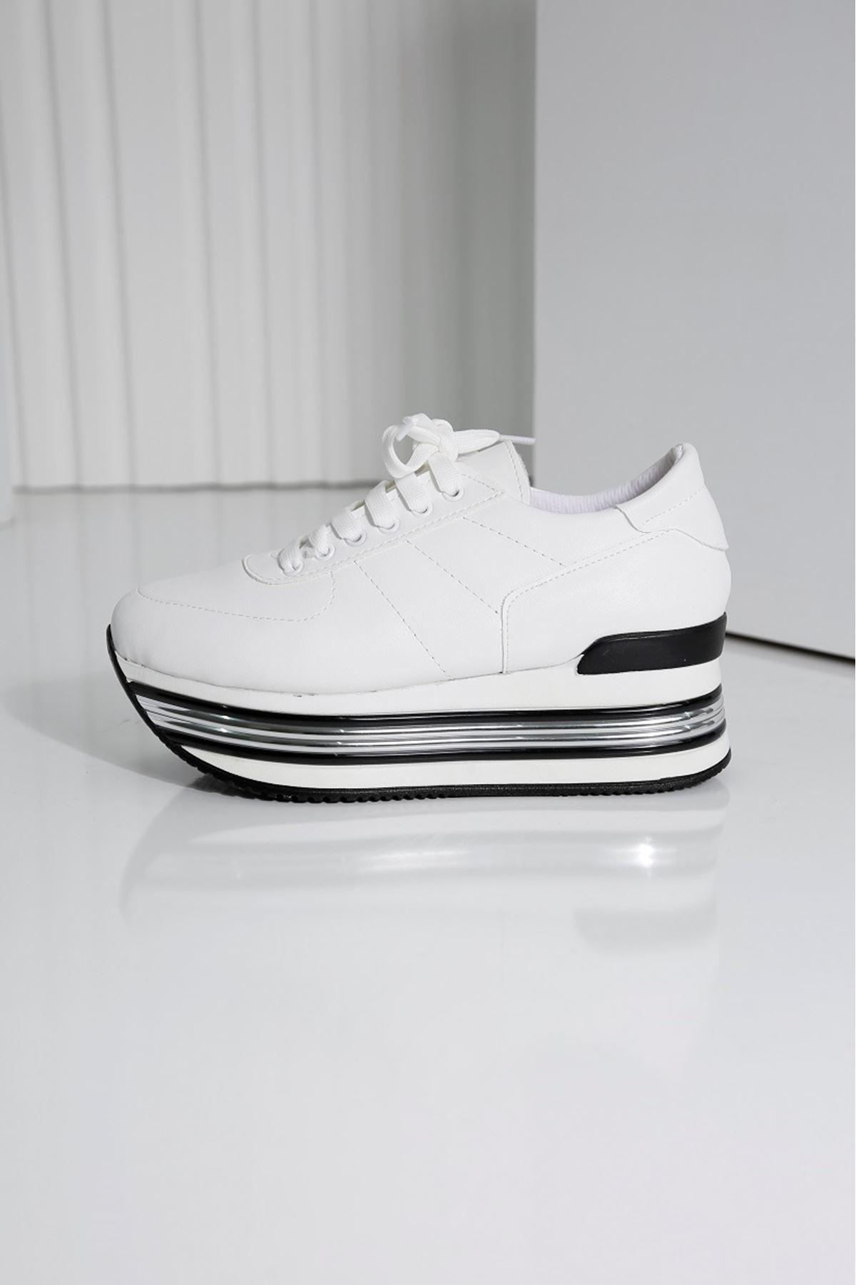 MELODY Beyaz Kadın Spor Ayakkabı