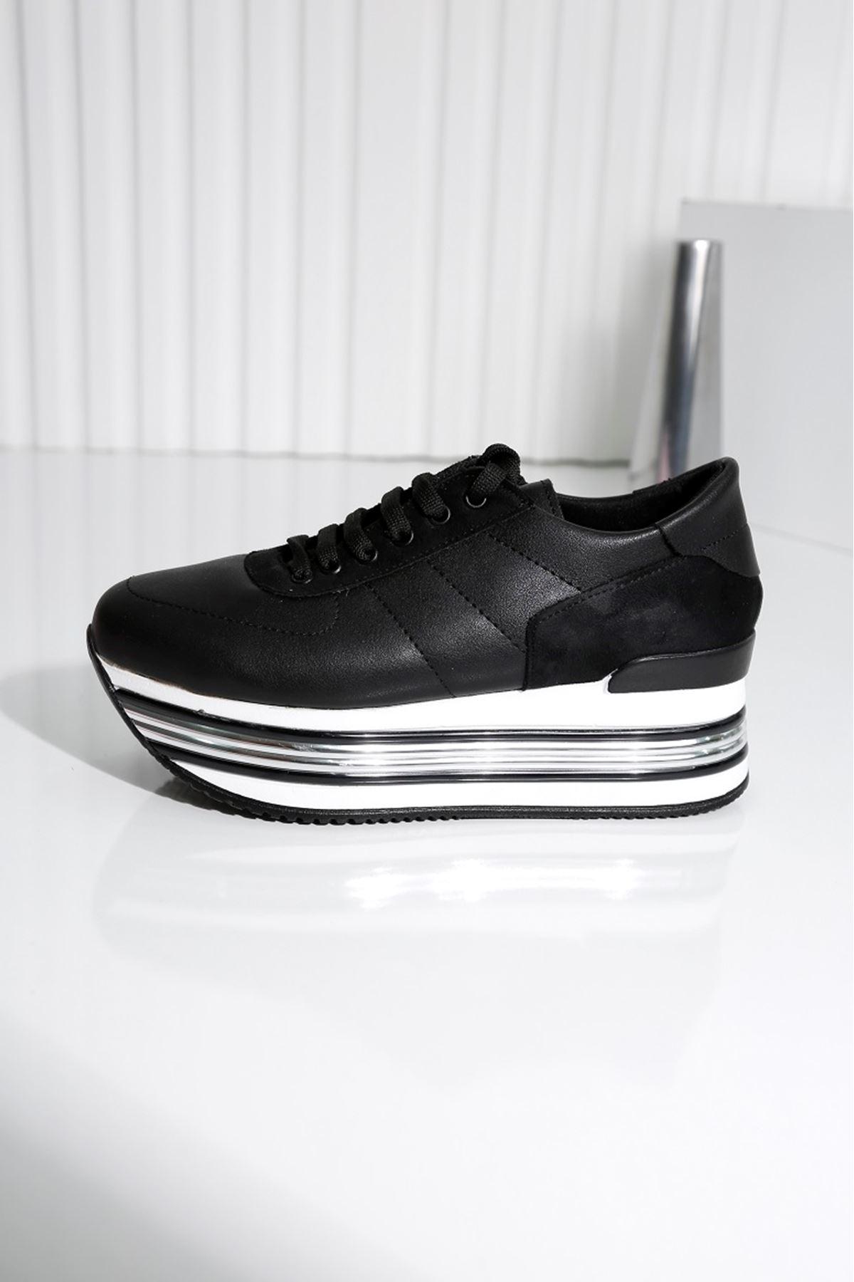 MELODY Siyah Kadın Spor Ayakkabı