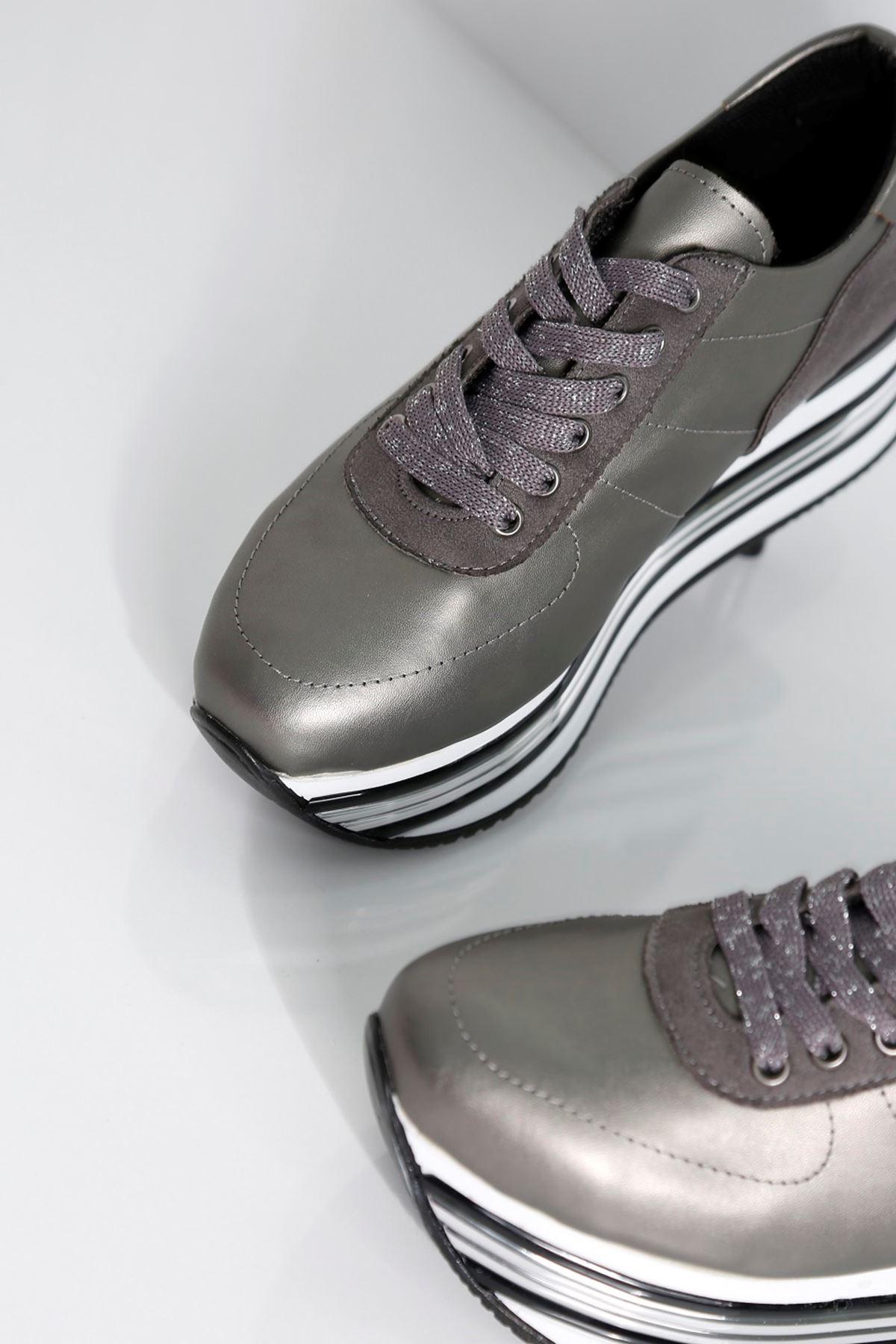 MELODY Antrasit Kadın Spor Ayakkabı