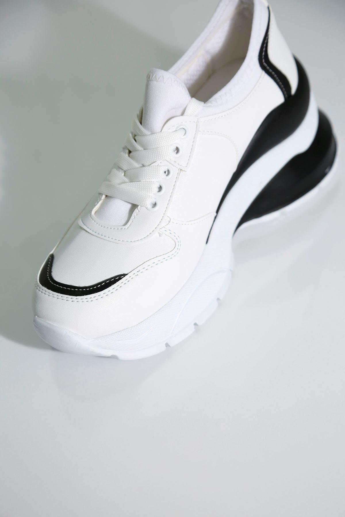 CHIC Beyaz Kadın Spor Ayakkabı