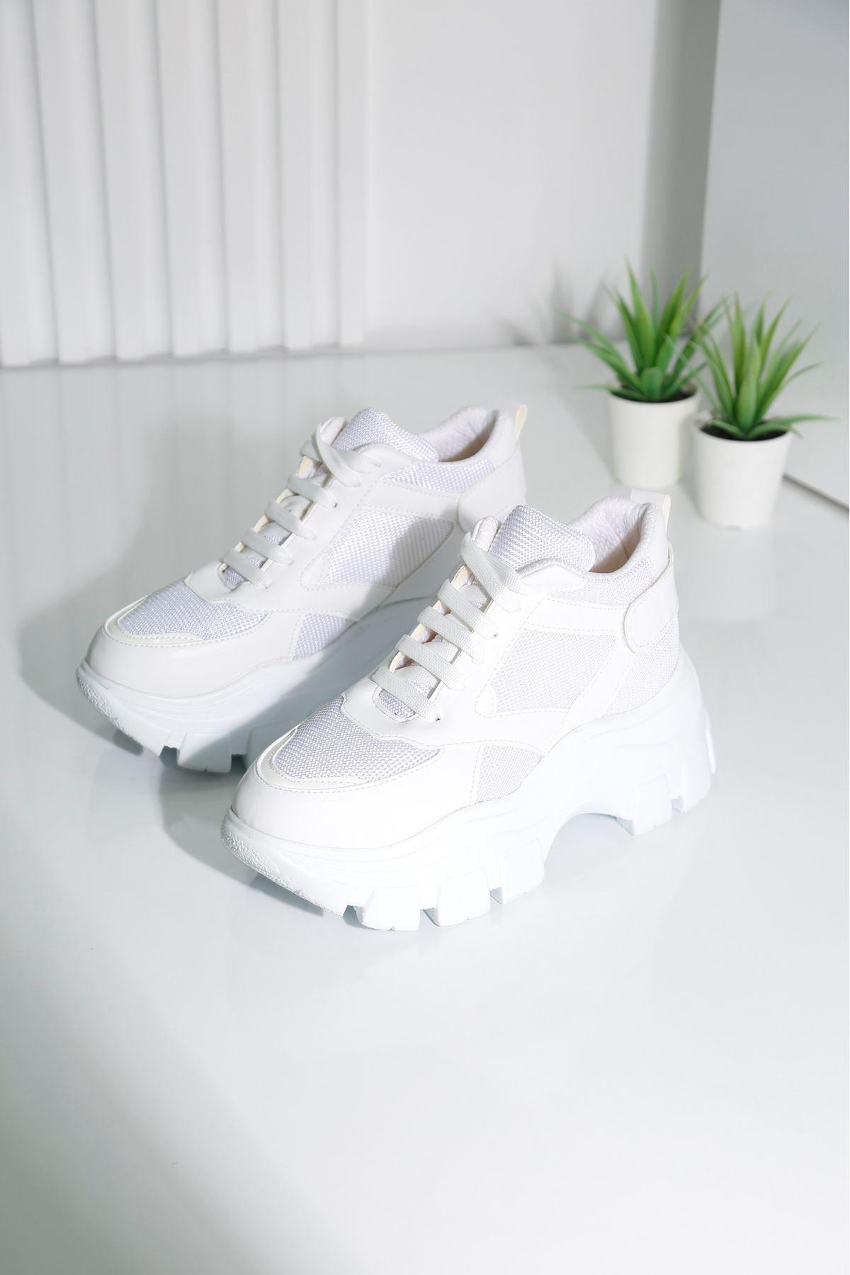 ARMOR Beyaz Kadın Spor Ayakkabı