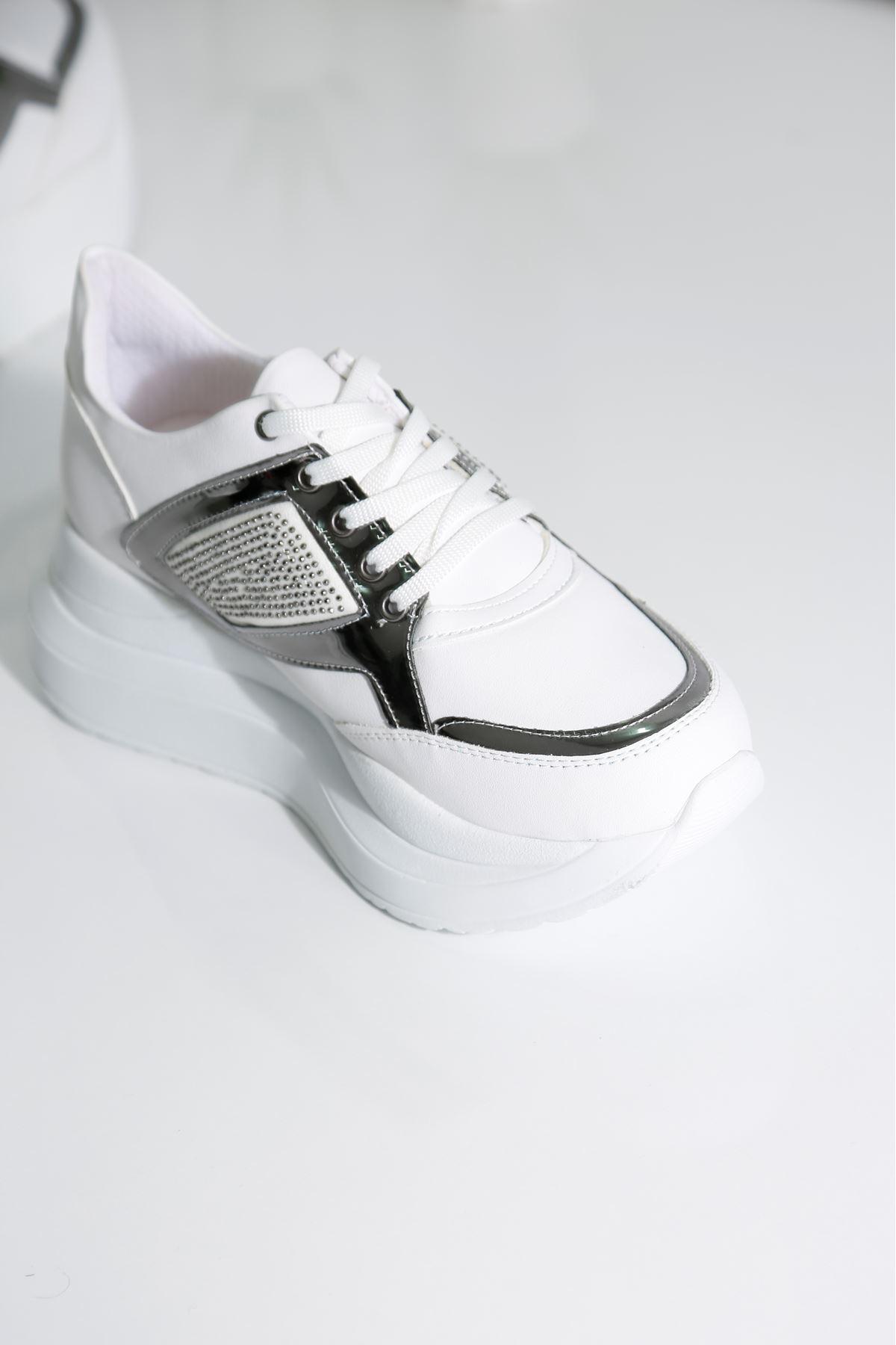 SPUNG Kadın Beyaz Spor Ayakkabı
