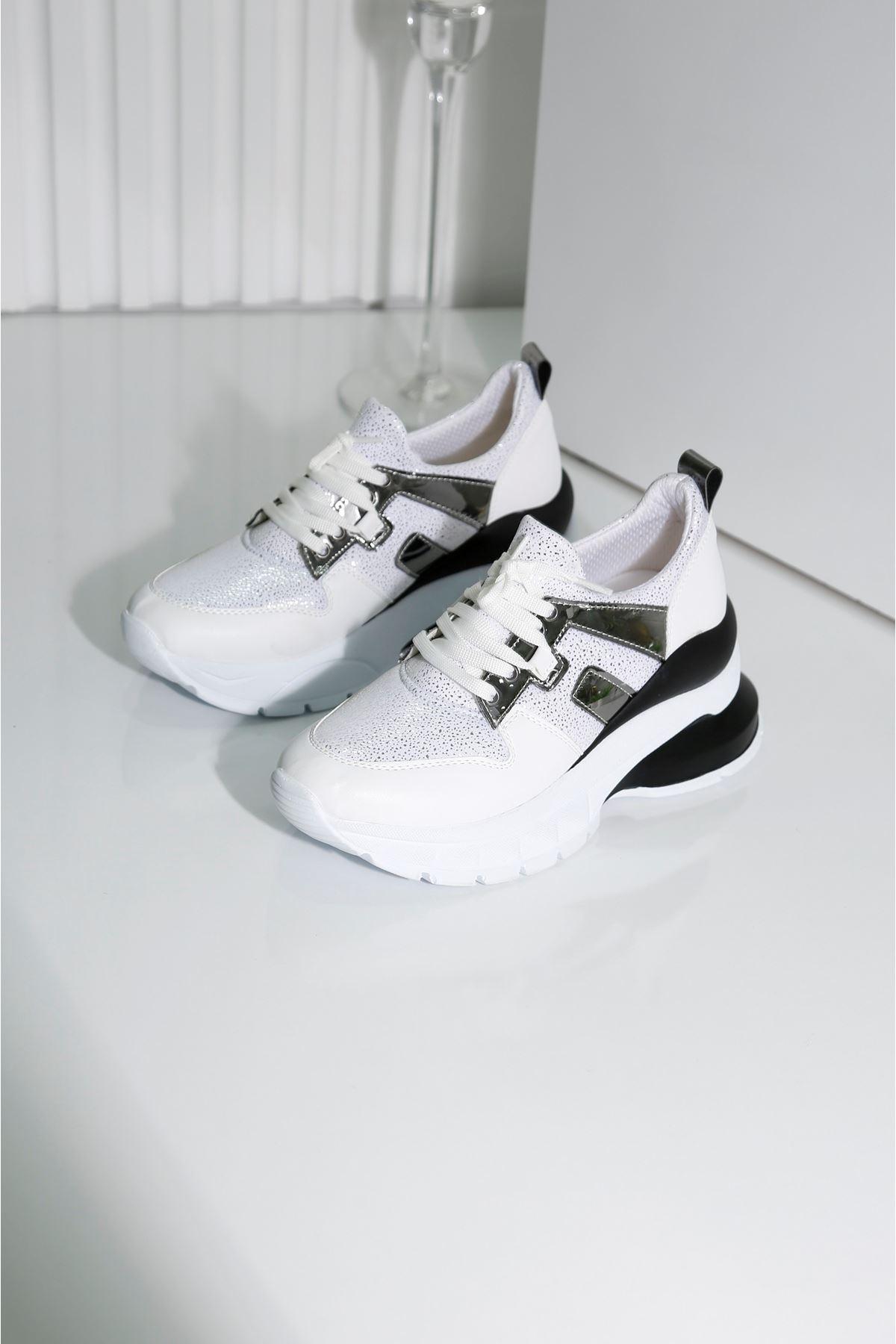 FIERY Kadın Beyaz Spor Ayakkabı
