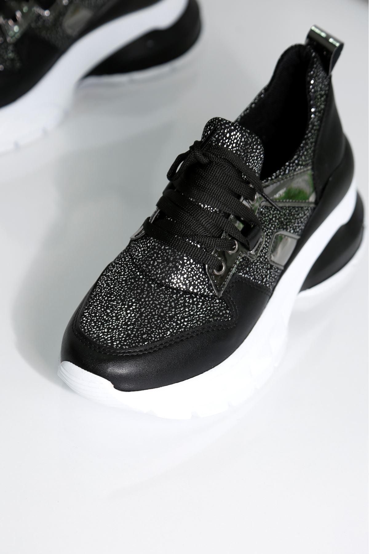 FIERY Kadın Siyah Spor Ayakkabı