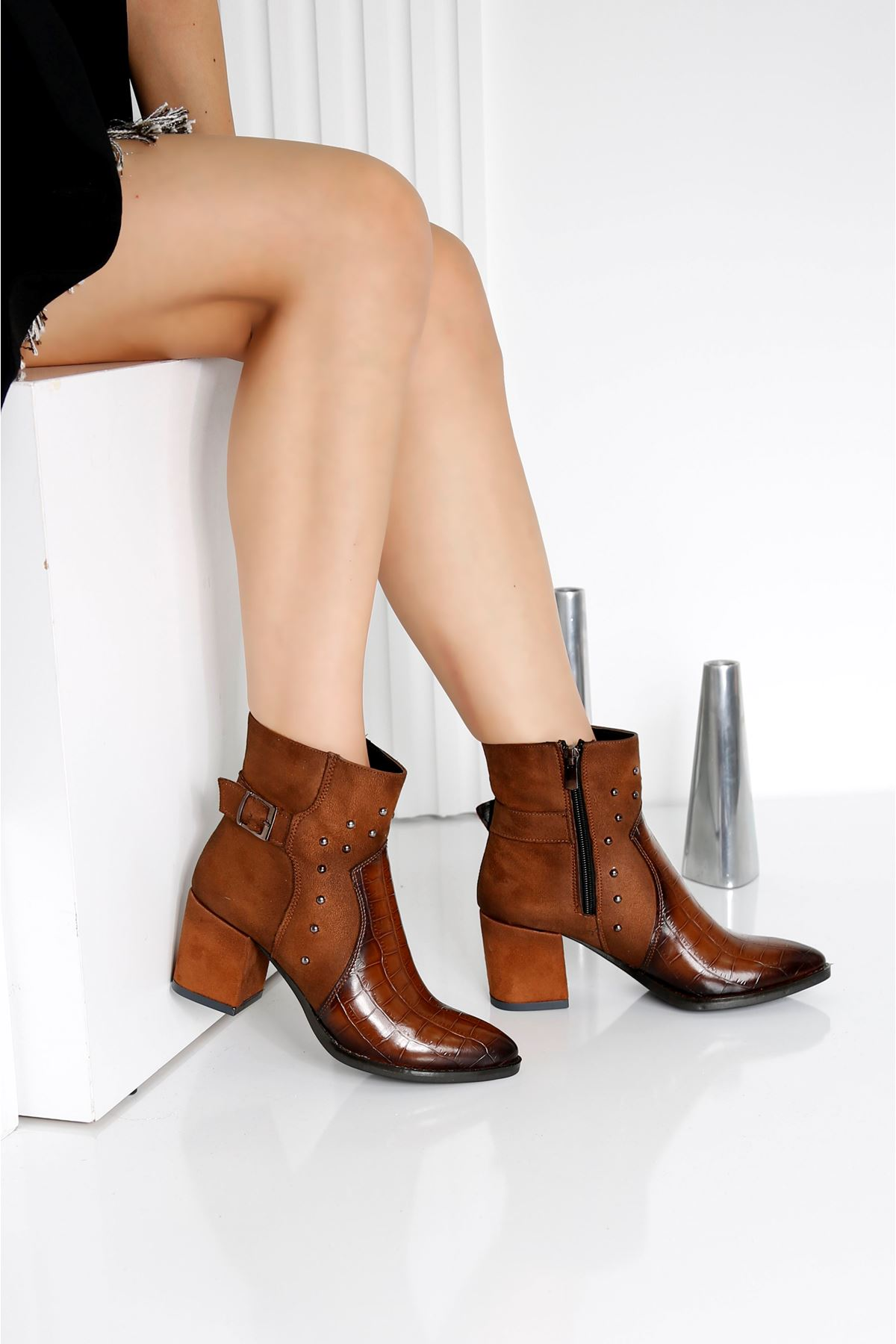 ROSE Taba Kadın Topuklu Bot