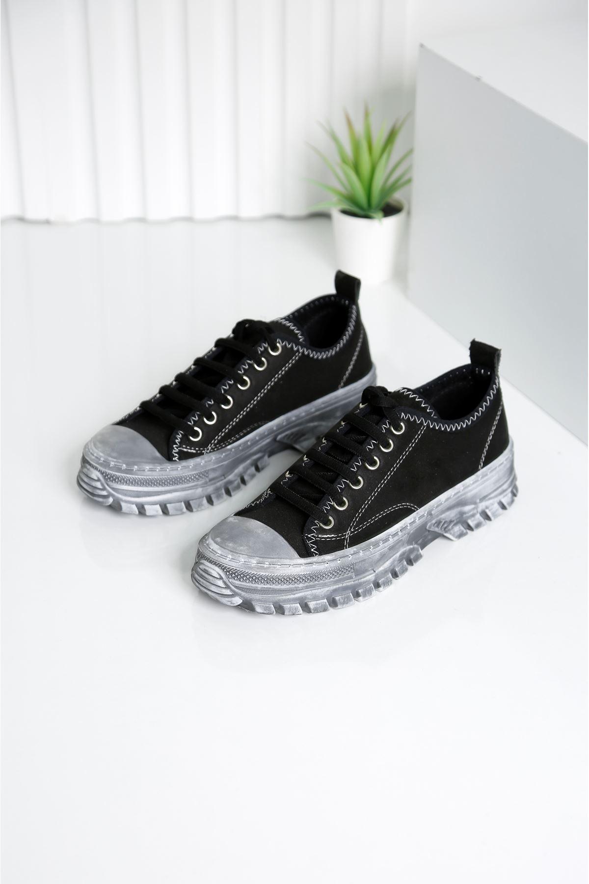 CRIX Kadın Siyah Casual Ayakkabı