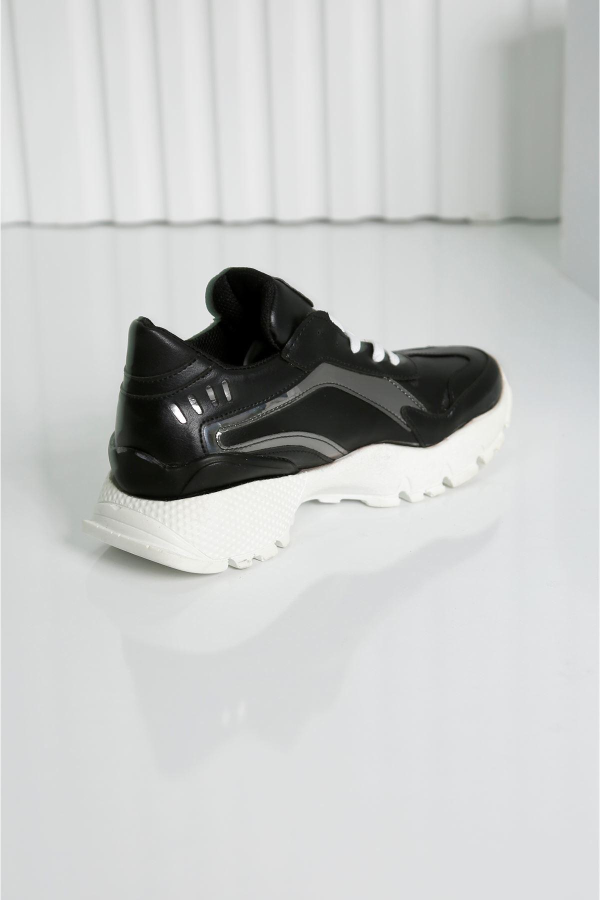 SAFİR Siyah Kadın Spor Ayakkabı