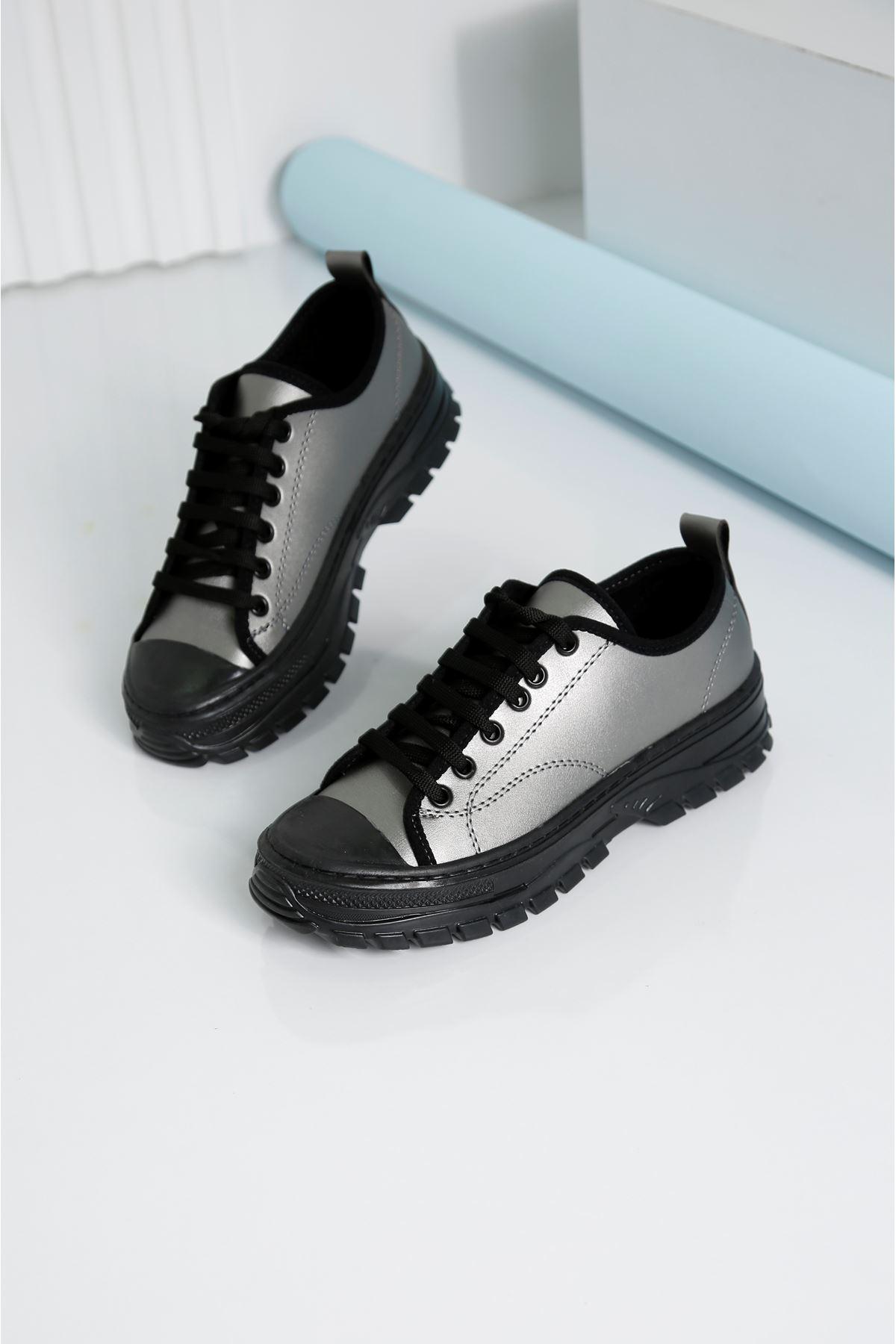 CRIX Kadın Gri Casual Ayakkabı