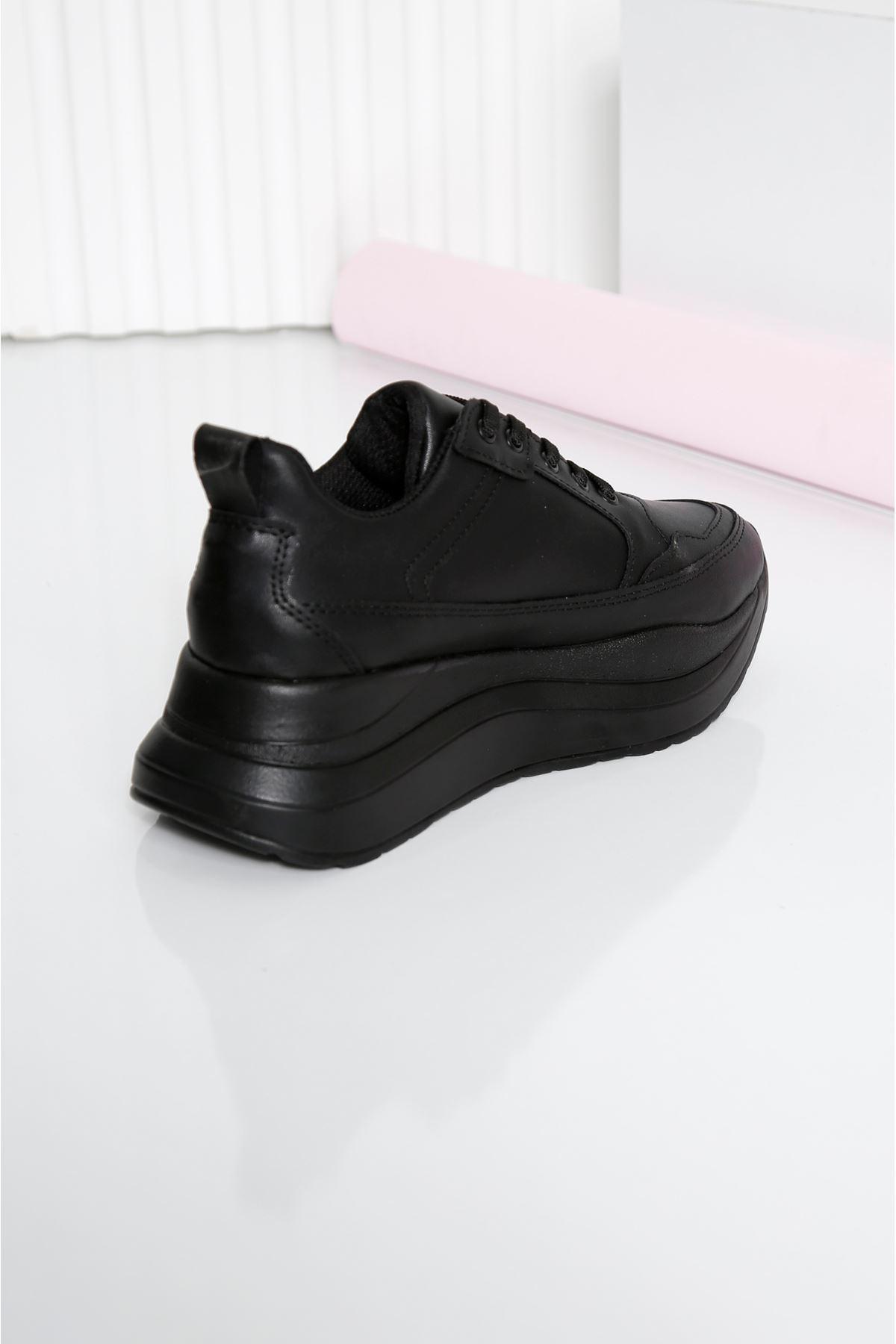 ROTS Siyah Kadın Spor Ayakkabı