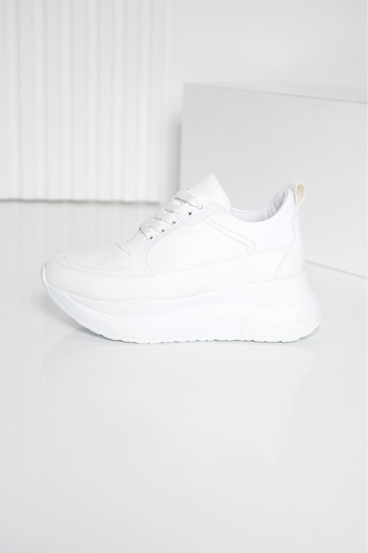 ROTS Beyaz Kadın Spor Ayakkabı