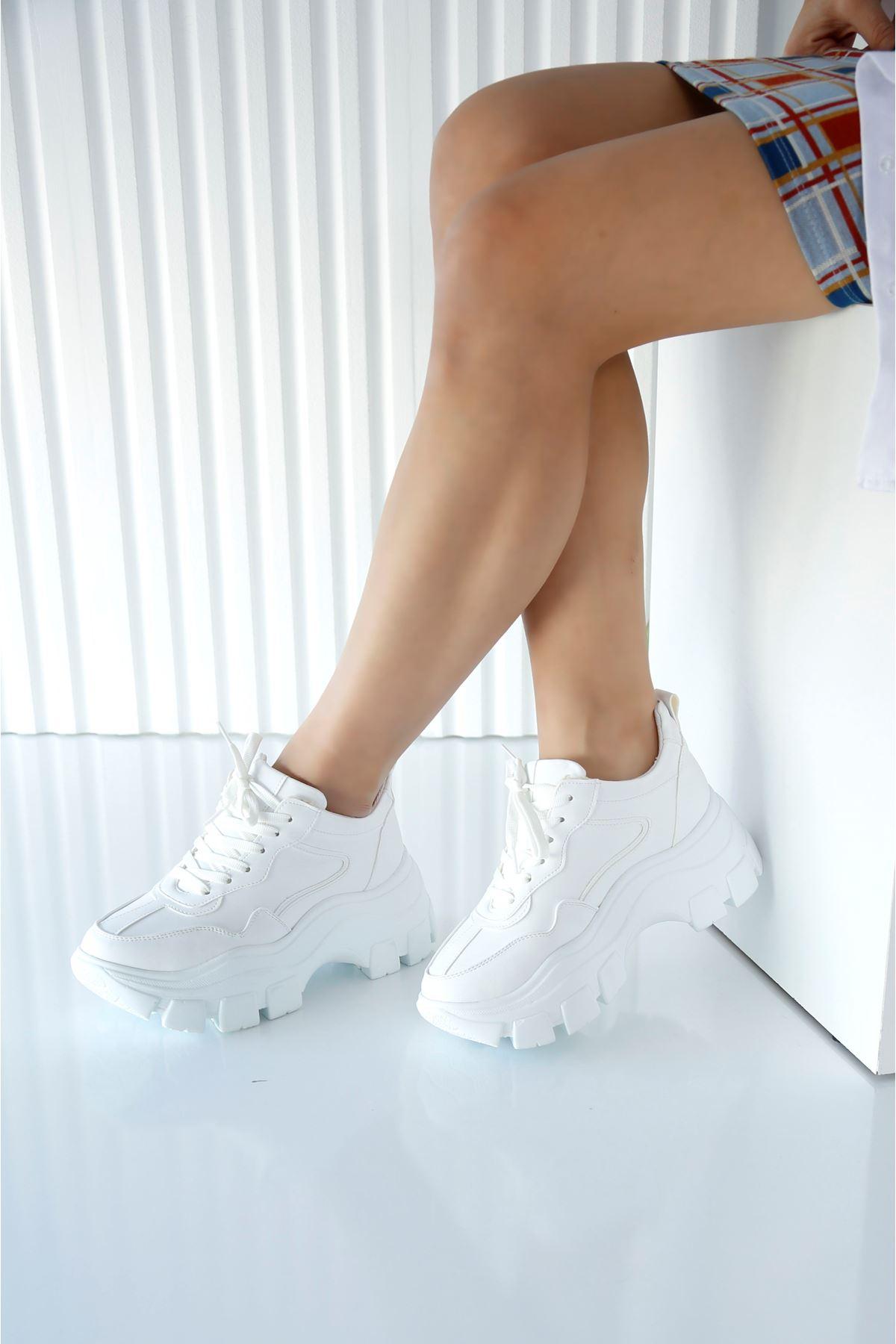 FORTE Beyaz Kadın Spor Ayakkabı