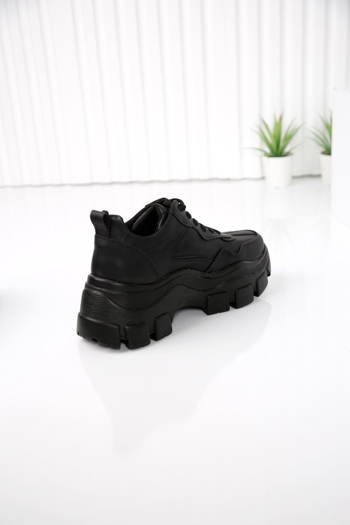 FORTE Siyah Kadın Spor Ayakkabı