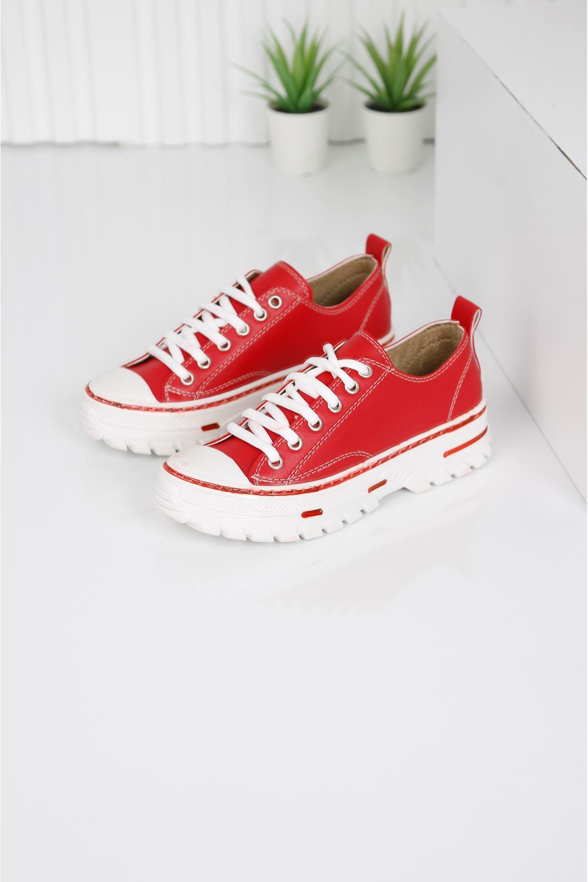 CRIX Kadın Kırmızı Casual Ayakkabı