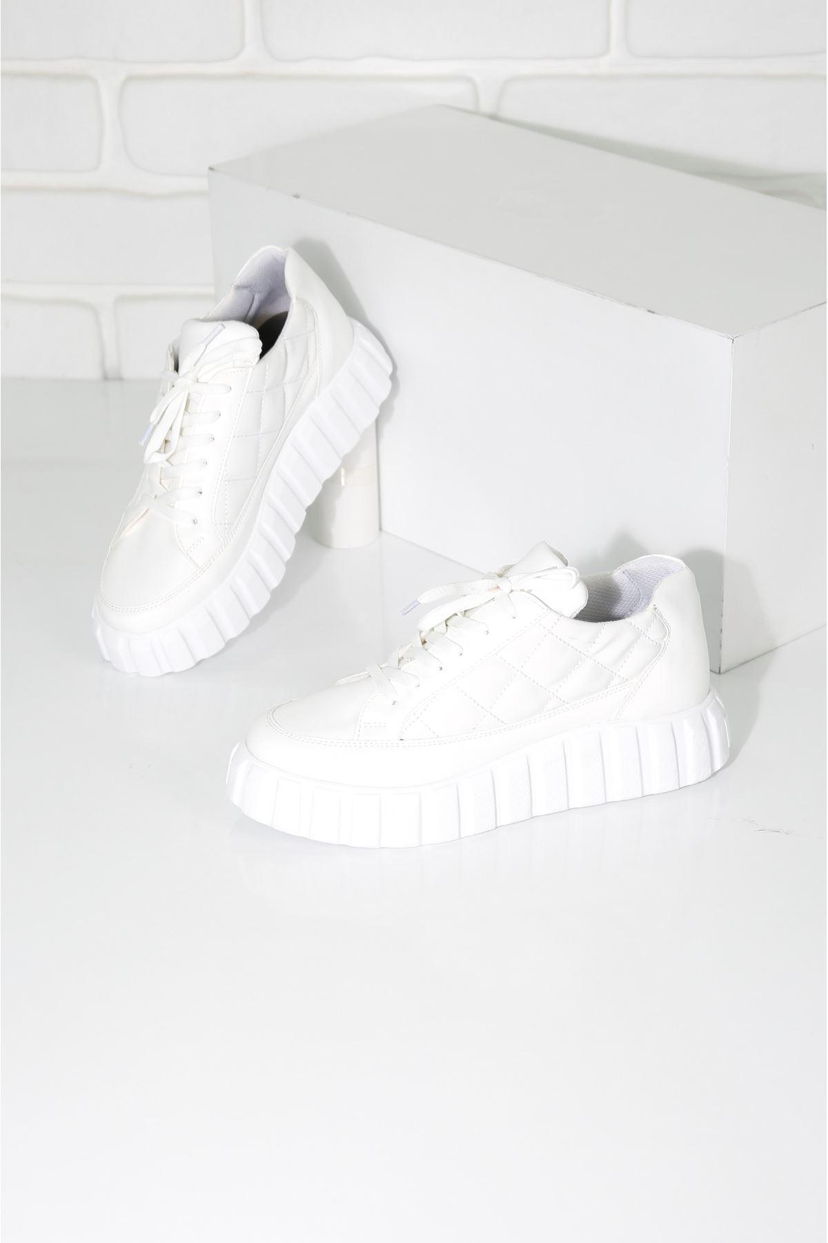 SOFT Beyaz Kadın Spor Ayakkabı