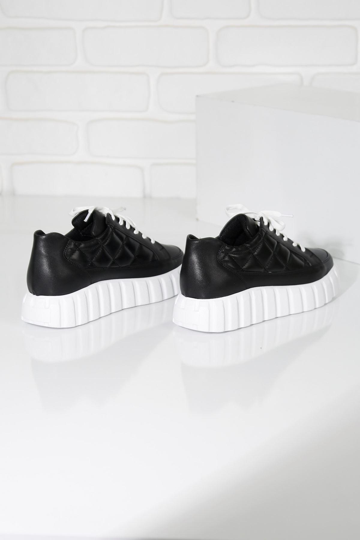 SOFT Siyah Kadın Spor Ayakkabı